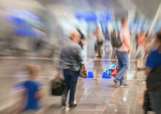 People in the airport. Royalty Free Stock Photos