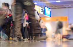 People in the airport. Stock Photography