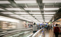 People in the airport. Royalty Free Stock Photography