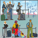 People at Airport - part 2 Stock Photo