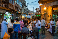 People Aleppo. Civilians in the Syrian city of Aleppo Stock Photos