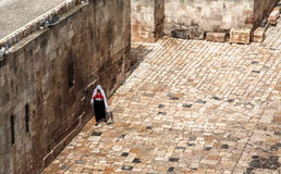 People Aleppo. Civilians in the Syrian city of Aleppo Royalty Free Stock Photography