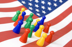 People of America royalty free stock images