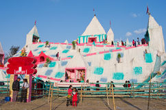People in amusement park in Kathmandu, Nepal Stock Photography
