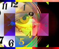 People And Time, Abstract Art And Concept Stock Photos