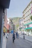 People of Andorra La Vella Royalty Free Stock Photo