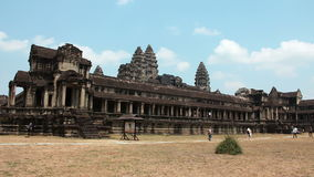 People in Angkor Wat, Siem Reap, Cambodia Stock Image