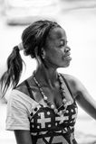 People in ANGOLA, LUANDA Royalty Free Stock Photography
