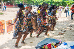 People in ANGOLA, LUANDA Royalty Free Stock Photography