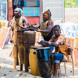 People in ANGOLA, LUANDA Royalty Free Stock Photos