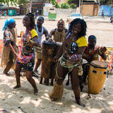 People in ANGOLA, LUANDA Royalty Free Stock Image
