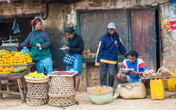 People in ANTANANARIVO, MADAGASCAR Royalty Free Stock Images