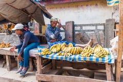 People in ANTANANARIVO, MADAGASCAR Royalty Free Stock Photos