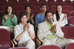 People Applauding At A Performance Stock Images