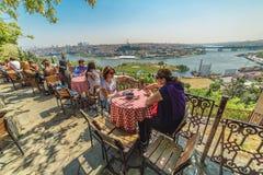 Free People Are Sitting Pierre Loti Restaurant Stock Photos - 117336943