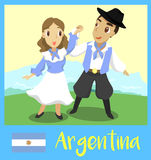 People of Argentina Stock Images