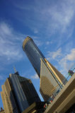 People around the financial center Royalty Free Stock Photography