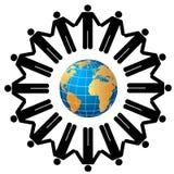 People around the globe Royalty Free Stock Photo