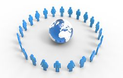 People Around The World Royalty Free Stock Images