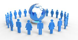 People Around The World Royalty Free Stock Photography
