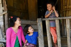People of Arunachal Pradesh Stock Image