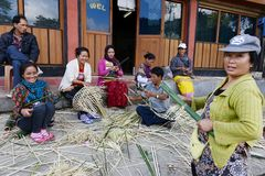 People of Arunachal Pradesh Royalty Free Stock Photography