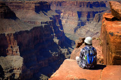 Free People At The North Rim Of Grand Canyon Gorge Stock Images - 85713344