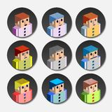 People avatar Royalty Free Stock Photography