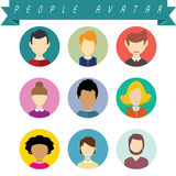 People avatar Royalty Free Stock Photo