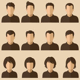 People avatars Stock Photos