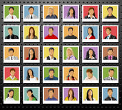 People Background Stock Photography