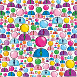 People background Royalty Free Stock Images