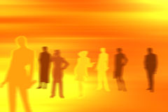 People background- dream team Royalty Free Stock Images