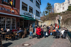 People in Bad Muenstereifel Stock Images