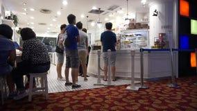 People in Bangkok stock footage