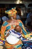 People in BANJUL, GAMBIA Royalty Free Stock Photos