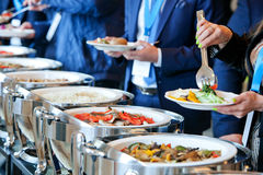 People at a banquet Royalty Free Stock Photography