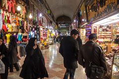 People in Bazaar-e Reza Royalty Free Stock Images