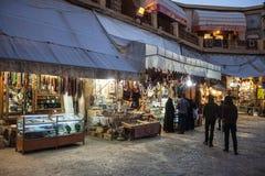 People in bazaar Royalty Free Stock Image
