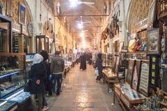 People in bazaar Royalty Free Stock Photo