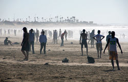 People at the Beach Royalty Free Stock Photography