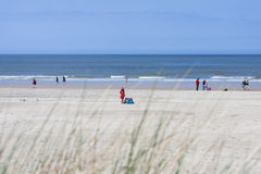 People On The Beach In Norderney, editorial Stock Images