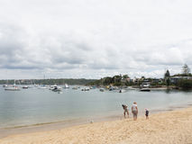 People on the beach, Sydney Royalty Free Stock Photos