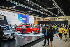 People at Benze zone in 31th Thailand International Motor Expo o Stock Images