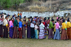 People Of Bhutan Stock Images