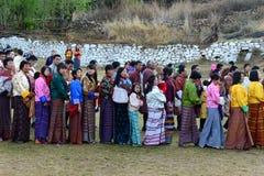 People Of Bhutan Stock Images
