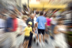 People in blur. Photograph of the people in blur Royalty Free Stock Images