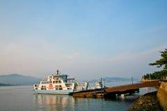 Miyajima ferry  Stock Photo