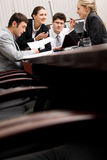 People in a boardroom Stock Photography
