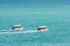 People Boat Trip On The Black Sea Royalty Free Stock Photos